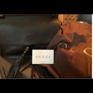 Gucci Black Tassel Bag